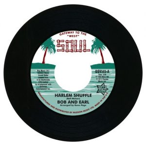 """Bob And Earl - Harlem Shuffle / Mel And Tim - Backfield In Motion 45 (Outta Sight) 7"""" Vinyl"""