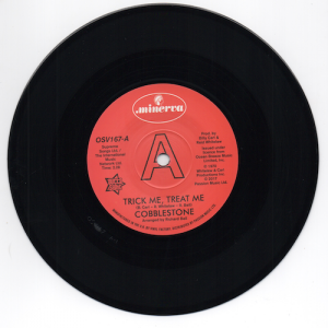 "Cobblestone - Trick Me Treat Me / The Moods - Rainmaker DEMO 45 (Outta Sight) 7"" Vinyl"