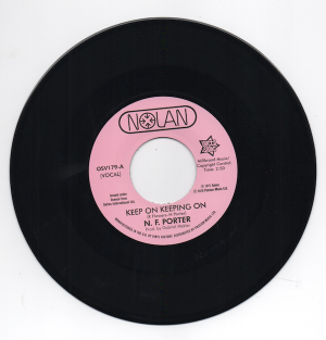 Nolan Porter - Keep On Keeping On / If I Could Only Be Sure 45