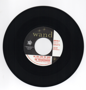 """The Masqueraders - Do You Love Me Baby / Gentlemen Four - You Can't Keep A Good Man Down 45 (Outta Sight) 7"""" Vinyl"""