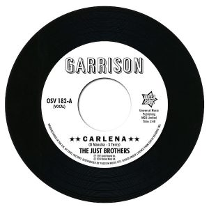 """Just Brothers - Carlena / The Honey Bees - Let's Get Back Together 45 (Outta Sight) 7"""" Vinyl"""