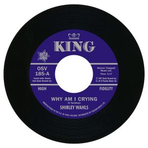Shirley Wahls - Why Am I Crying / That's How Long (I'm Gonna Love You) 45