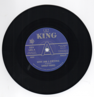 """Shirley Wahls - Why Am I Crying / That's How Long (I'm Gonna Love You) DEMO 45 (Outta Sight) 7"""" Vinyl"""