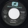 Jeff Perry - Love Don't Come No Stronger (Than Yours And Mine) / Mandrill - Too Late 45