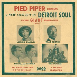 Pied Piper Presents A New Concept In Detroit Soul - Various Artists CD (Kent)