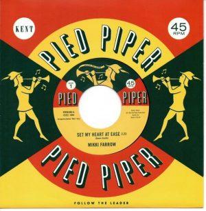 "Mikki Farrow - Set My Heart At Ease / September Jones - I'm Coming Home 45 (Pied Piper) 7"" Vinyl"