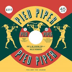 "Willie Kendrick - She'll Be Leaving You / Sharon Scott - It's Better 45 (Pied Piper) 7"" Vinyl"