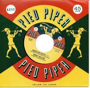 "Nancy Wilcox - Gamblers Blues / Lorraine Chandler - I Hear Music 45 (Pied Piper) 7"" Vinyl"