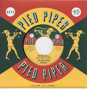 Pied Piper Players - The Bari Sax / The Cavaliers - We Go Together 45 (Pied Piper) 7' Vinyl