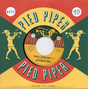September Jones - Chink A Chank Baby / Pied Piper Players - That's What Love Is 45 (Pied Piper) 7' Vinyl