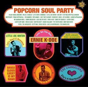 Popcorn Soul Party - Blended Soul And R&B 1958-62 LP