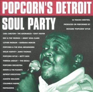 Popcorn's Detroit Soul Party CD-0