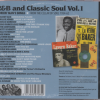 R&B And Classic Soul Volume 1 Workin' Man's Songs CD (Back)