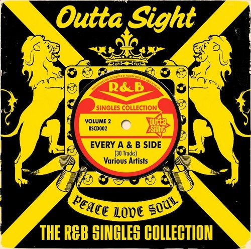 R&B Singles Collection Volume 2 - Various Artists CD (Outta Sight)