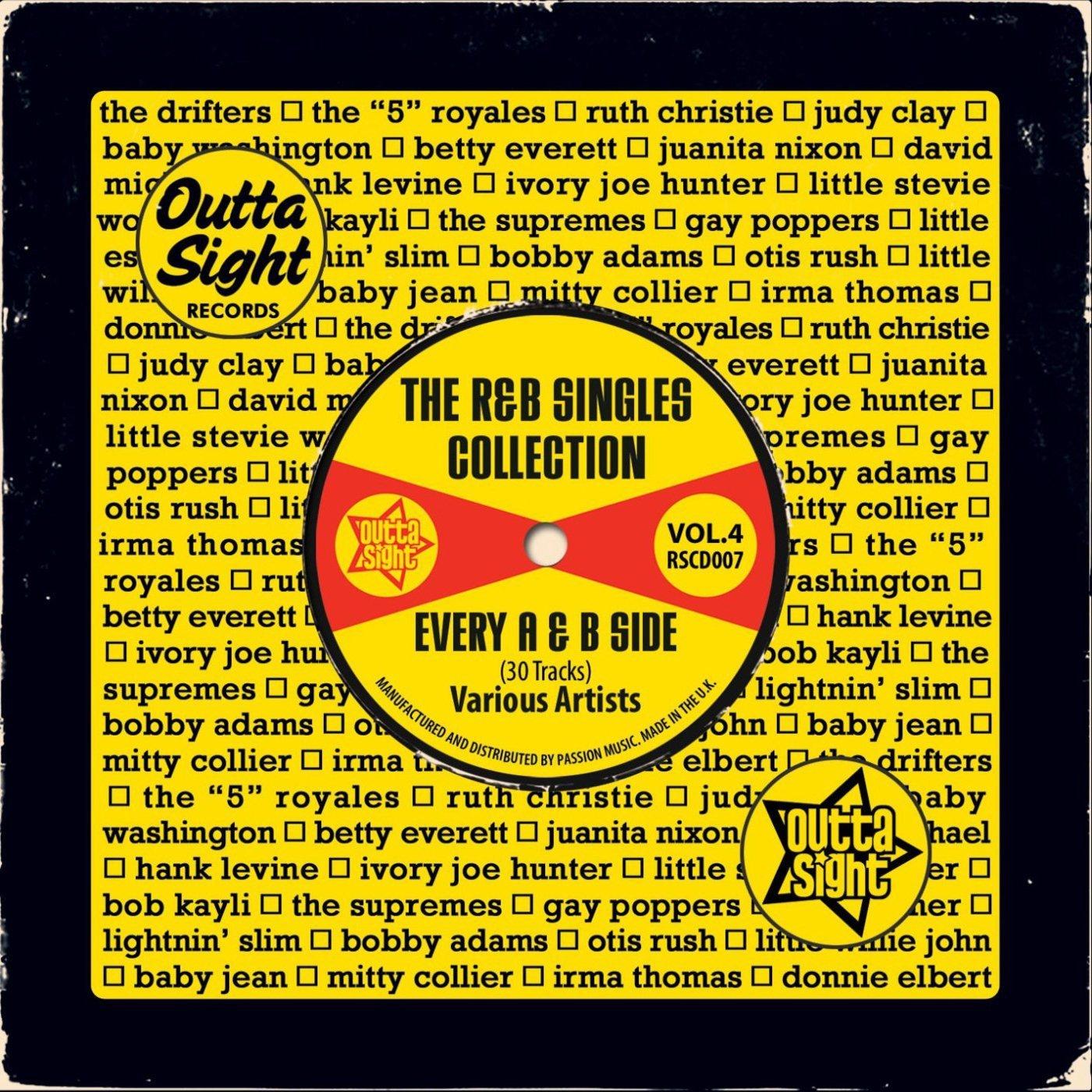 R&B Singles Collection Volume 4 CD