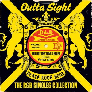 R&B Singles Collection Volume 2 - Various Artists LP Vinyl (Outta Sight)