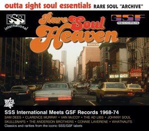 Rare Soul Heaven - SSS International Meets GSF Records 1968-76 CD