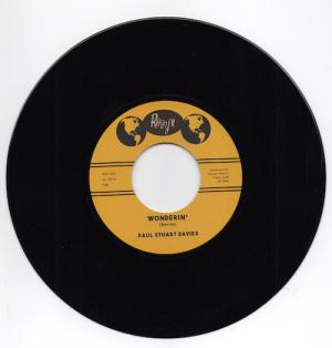 Paul Stuart Davies - Wonderin' / Lovin' Me Stronger 45