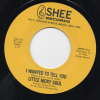 Little Nicky Soul - I Wanted To Tell You / You Said 45