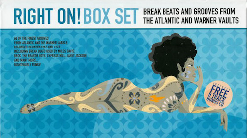 Right On! Box Set - Break Beaks And Grooves From The Atlantic And Warner Vaults 4X CD Box Set