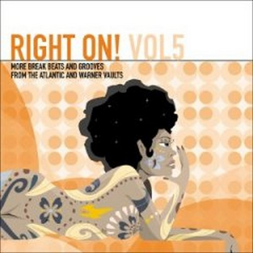 RIGHT ON! VOLUME 5 More Break Beats & Grooves From The Atlantic And Warner Vaults 2X LP-0