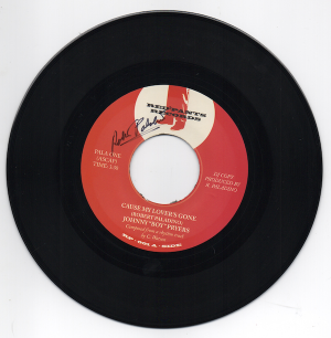 "Johnny 'Boy' Pryers - Cause My Lover's Gone / Apple Heads - Ethans Theme SIGNED 45 (Red Pants) 7"" Vinyl"
