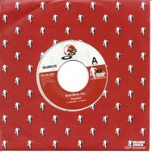 "Soul Bros Inc - Pyramid / (Chris Rhythm Spiritual Mix) 45 (Record Shack) 7"" Vinyl"