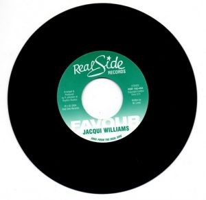 "Jacqui Williams - Favour 45 (Real Side) 7"" Vinyl"