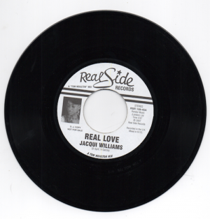 "Jacqui Williams - Real Love (Tom Moulton Mix) / (UK Groove Mix) PROMO 45 (Real Side) 7"" Vinyl"