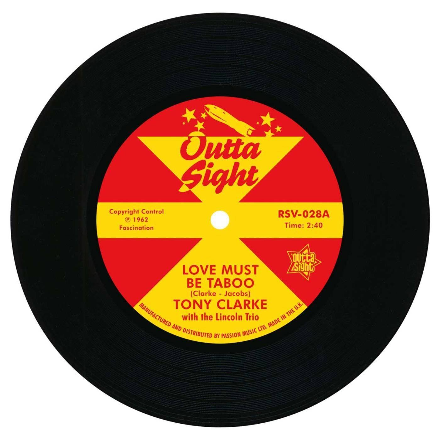 Love Must Be Taboo / Willie Knows How 7″-0