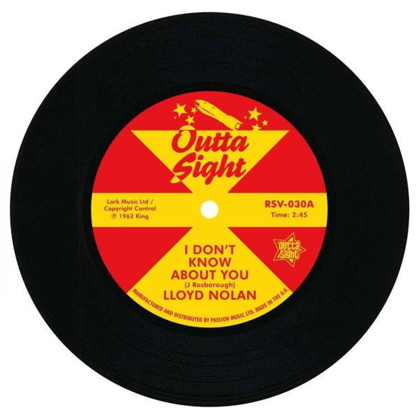 """Lloyd Nolan - I Don't Know About You / Rodger Green - Betty Mae 45 (Outta Sight) 7"""" Vinyl"""