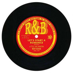 "Little Joe Hinton - Let's Start A Romance / I Won't Be Your Fool 45 (Outta Sight) 7"" Vinyl"