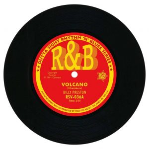 "Billy Preston - Volcano / Ed Townsend - Cherrigale 45 (Outta Sight) 7"" Vinyl"