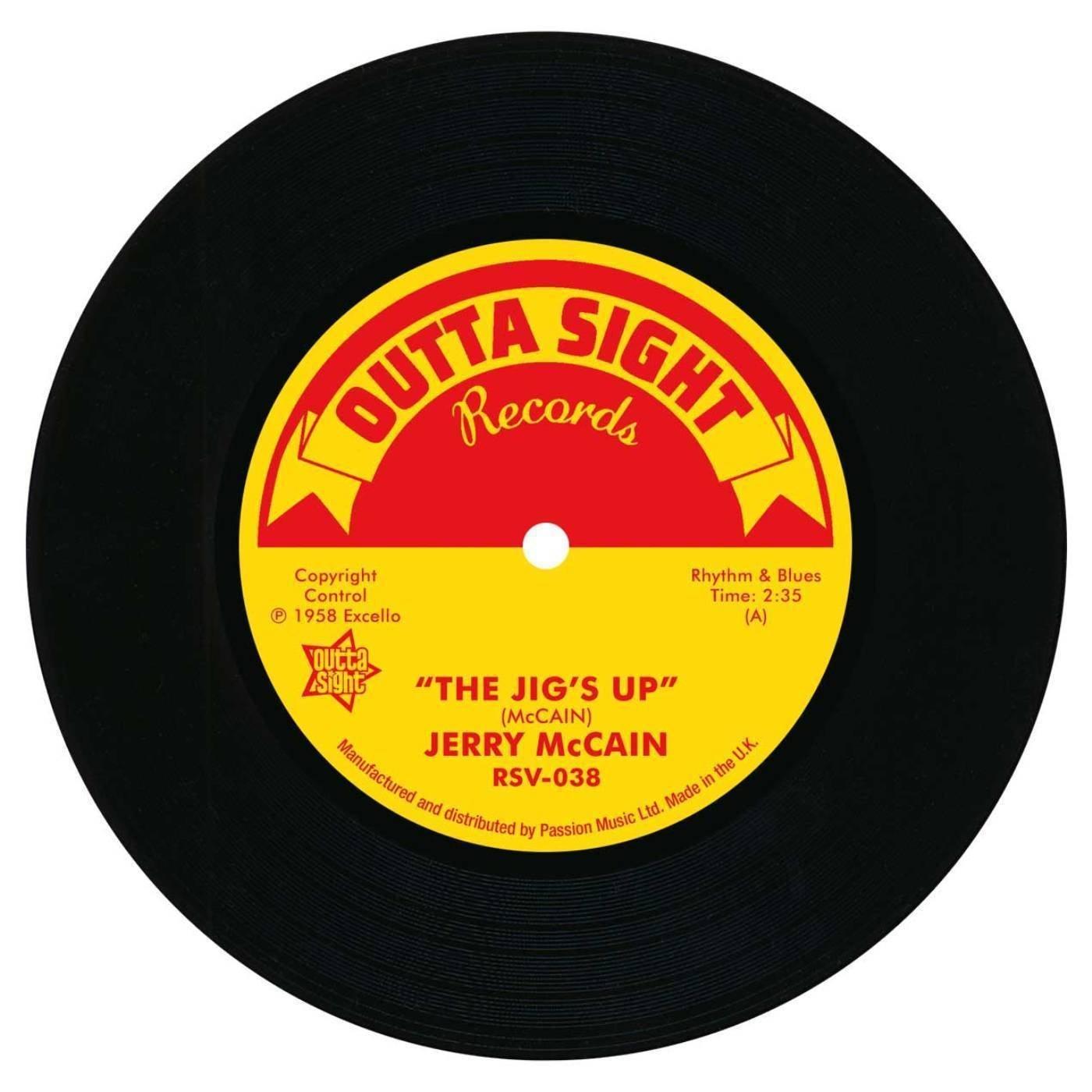 Jerry McCain – The Jig's Up / Twist 62 45 (Outta Sight) 7″ Vinyl