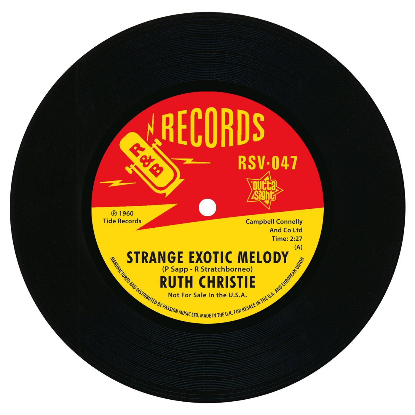 Strange Exotic Melody / This Must Be Love 7″-0