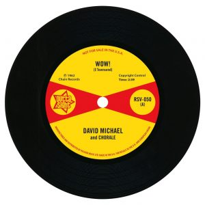 "David Michael - Wow! / Hank Levine - Image Part 1 45 (Outta Sight) 7"" Vinyl"