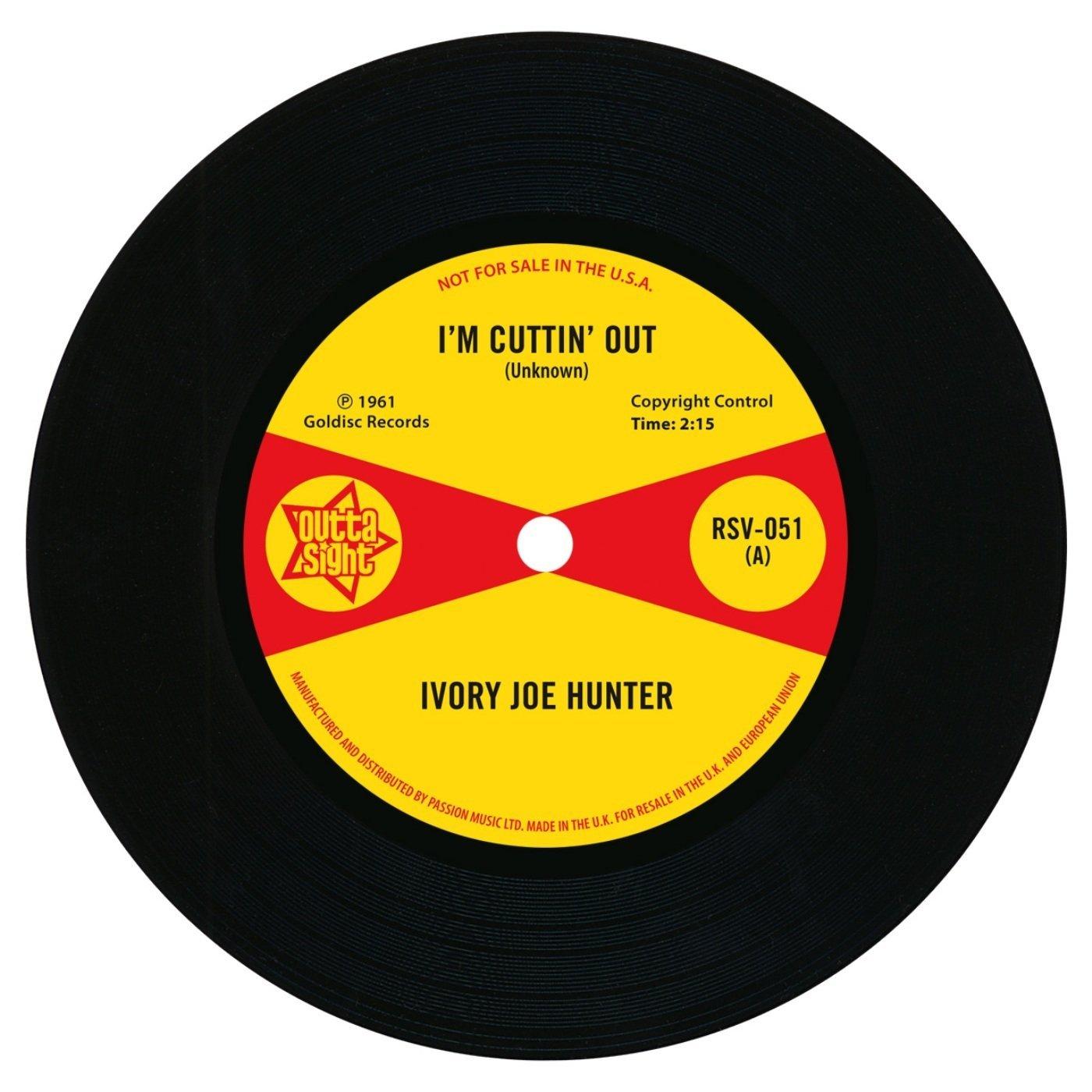I'm Cuttin' Out / You Only Want Me When You Need Me 7″-0