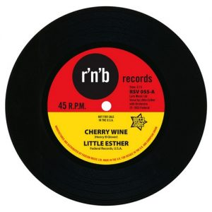 "Little Esther - Cherry Wine / You Took My Love Too Fast 45 (Outta Sight) 7"" Vinyl"