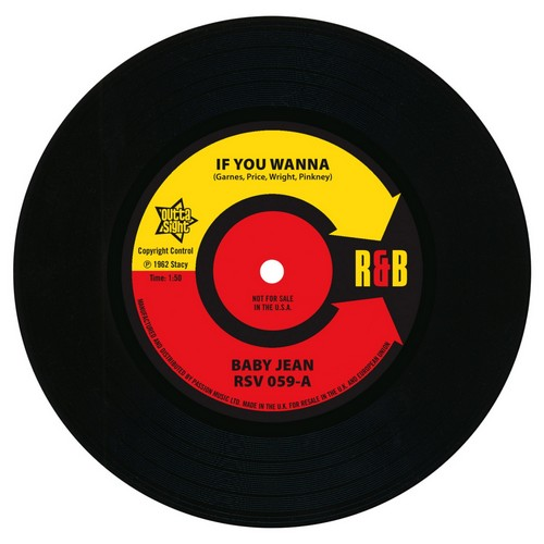 Baby Jean - If You Wanna / Mitty Collier - Don't Let Her Take My Baby 45