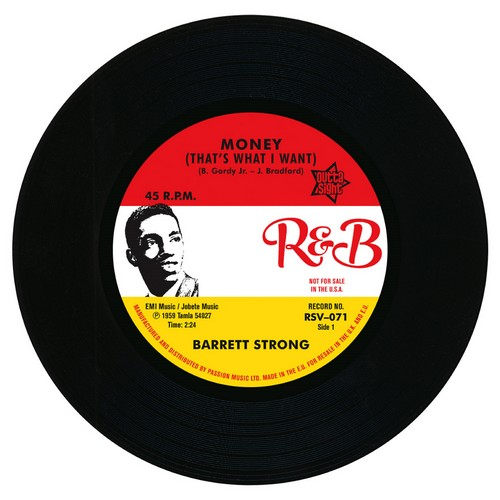 "Barrett Strong - Money (That's What I Want) / Misery 45 (Outta Sight) 7"" Vinyl"