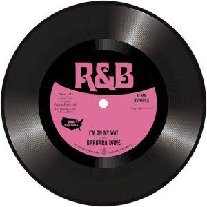 """Barbara Dane - I'm On My Way / Betty O'Brien - She'll Be Gone 45 (Outta Sight) 7"""" Vinyl"""