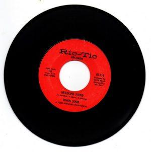 "Edwin Starr - Headline News / Harlem 45 (Ric Tic) 7"" Vinyl"