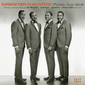 Satisfaction Guaranteed! - Motown Guys 1961-69 - Various Artists CD (Kent)