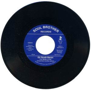 "Gil Scott-Heron - The Bottle / Johannesburg 45 (Soul Brother) 7"" Vinyl"