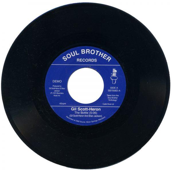 """Gil Scott-Heron - The Bottle / Johannesburg 45 (Soul Brother) 7"""" Vinyl"""