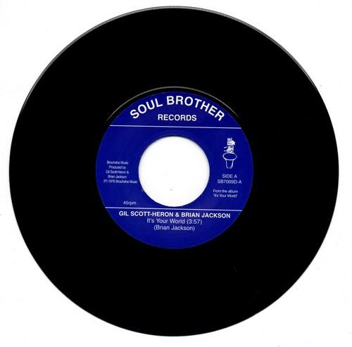 Gil Scott-Heron & Brian Jackson - It's Your World / Winter In America 45