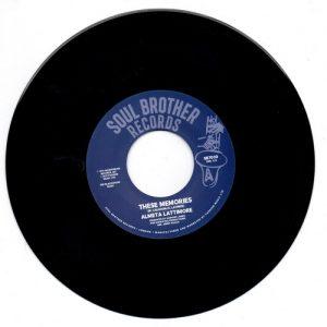 "Almeta Lattimore - These Memories / Oh My Love 45 (Soul Brother) 7"" Vinyl"