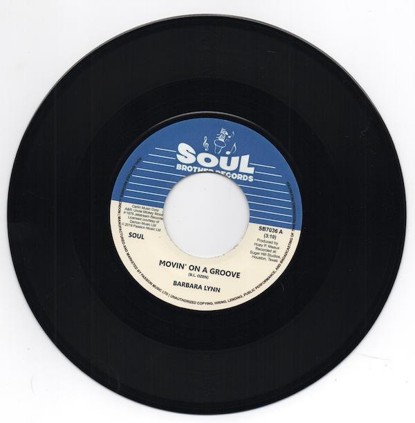 Barbara Lynn - Movin' On A Groove / Disco Music 45