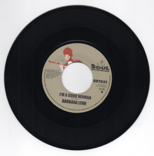 "Barbara Lynn - I'm A Good Woman / I Don't Want A Playboy 45 (Soul Brother) 7"" Vinyl"