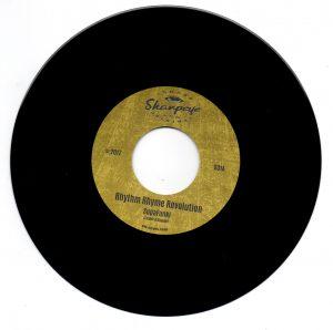 """Rhythm Rhyme Revolution - Superfunki / Superfunki (Version) 45 (Sharpeye) 7"""" Vinyl"""